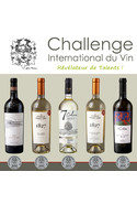 Challenge International du Vin/ Set de vinuri Medaliate Argint